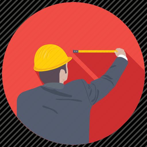 carpenter, construction worker, craftsman, handyman, worker icon
