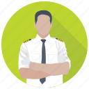 airline captain, airline crew, airline pilot, airplane pilot, flight attendant icon