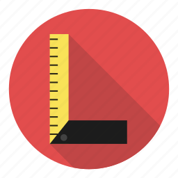 architect, exact, measure, profession, ruler, sketch icon