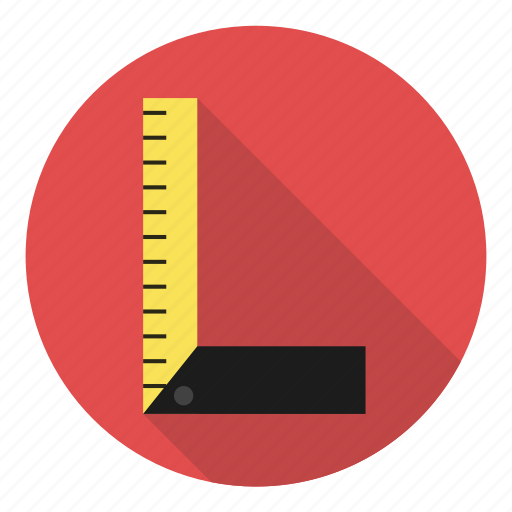 architect, exact, measure, profession, ruler, sketch icon