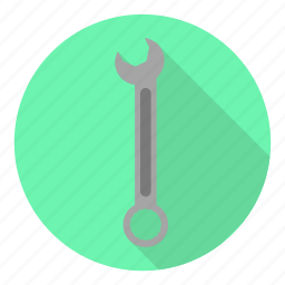 auto, mechanic, profession, ring, tool, wrench icon
