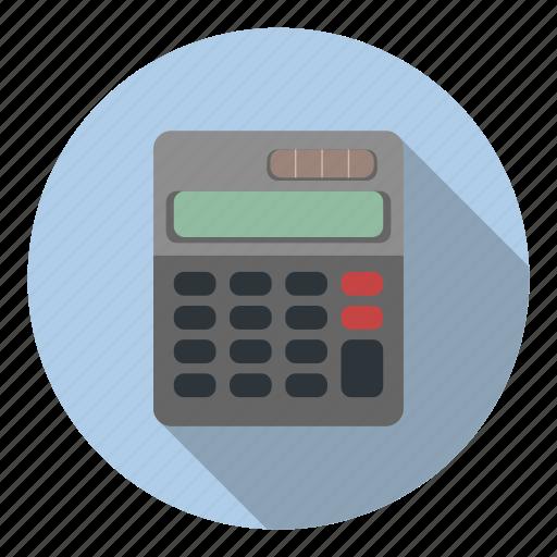 accountant, calculator, math, profession icon