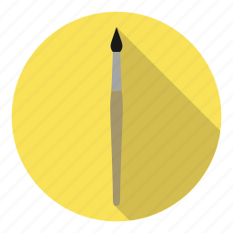 artist, brush, paint, painting, profession icon