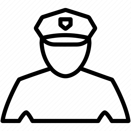 deputy, officer, policeman, protection, security, sheriff icon