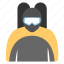 diver, freediving, snorkeling, swimmer, underwater diving icon