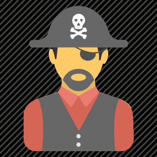 bandit, buccaneer, caribbean, criminal, pirate icon