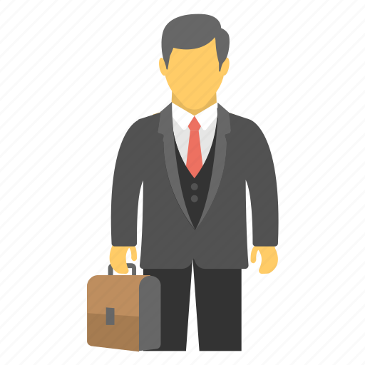 accountant, administrator, businessman, clerk, manager icon
