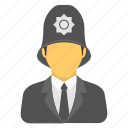 constable, cop, police officer, policeman, sergeant icon