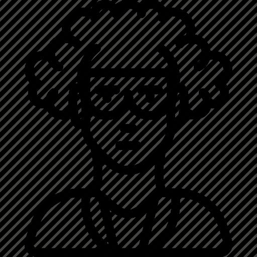 avatar, male, people, professional, professions, professor, scientist icon