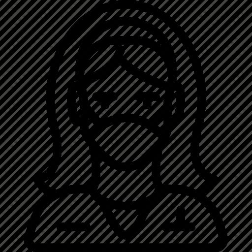 avatar, doctor, female, nurse, people, professional, professions icon