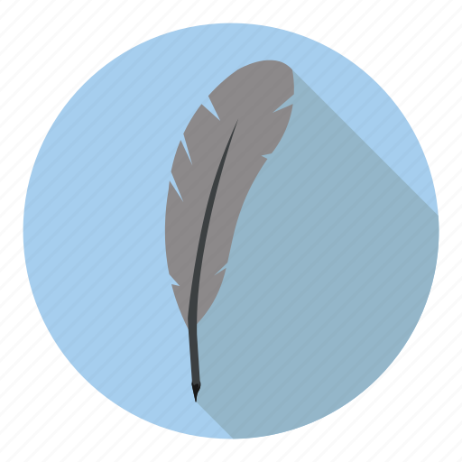 feather, ink, poem, profession, write icon
