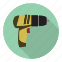 drill, electric, heavy, profession icon