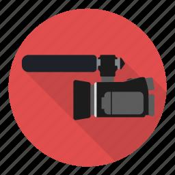 camcorder, camera, film, profession, recorder icon