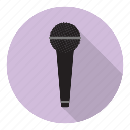 microphone, music, profession, record, sing, singer, voice icon
