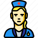 avatar, nurse, people, professional, professions, user icon