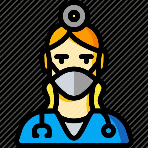 avatar, dentist, female, people, professional, professions, ultra icon