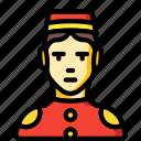 avatar, bell, boy, porter, professional, professions, user icon