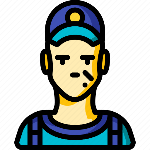 avatar, male, mechanic, people, professional, professions, user icon