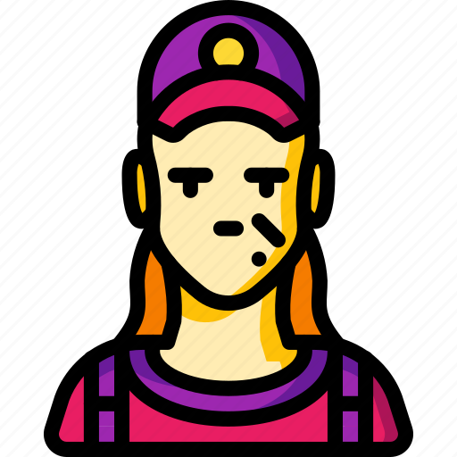 avatar, female, mechanic, people, professional, professions, user icon