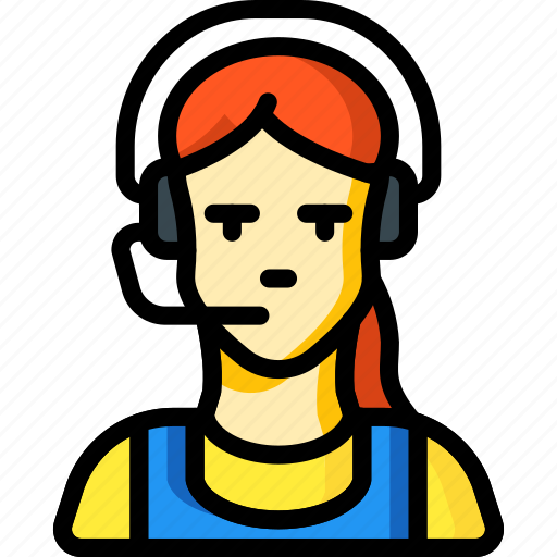 agent, female, people, professional, professions, sales, user icon