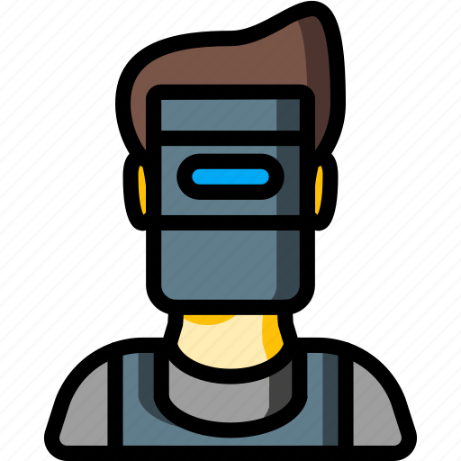 avatar, people, professional, professions, user, welder icon