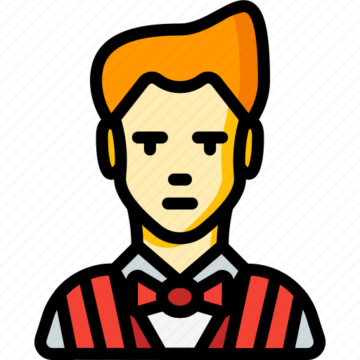 avatar, barber, hairdresser, people, professional, professions, user icon
