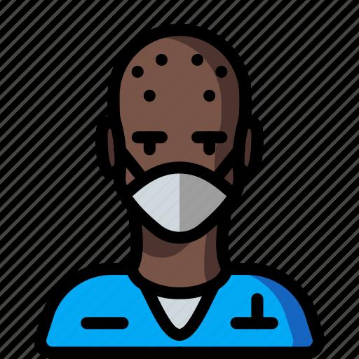 avatar, male, people, professional, professions, surgeon, user icon