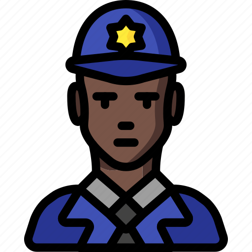 avatar, copper, man, people, police, professional, professions icon