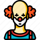 avatar, clown, people, professional, professions, user icon