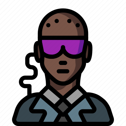 avatar, bouncer, male, people, professional, professions, user icon