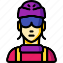 avatar, bike, courier, people, professional, professions, user icon