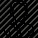 human, male, user icon