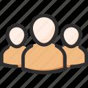 account, leader, profile, team, user icon