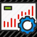 account, cogwheel, profile, settings, statistics, stats, user