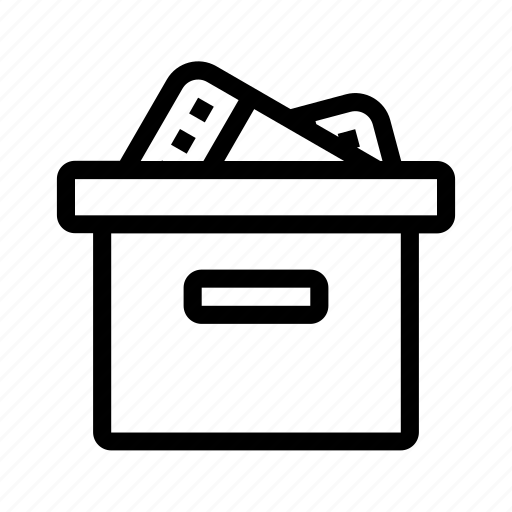 box, delivery, gift, package, present icon