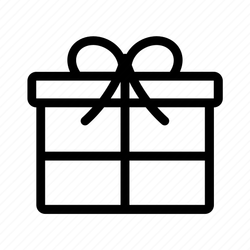 delivery, gift, package, present icon