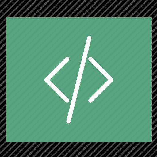 code, network, program task, programming, task icon
