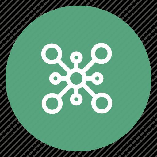 connection, internet, web icon