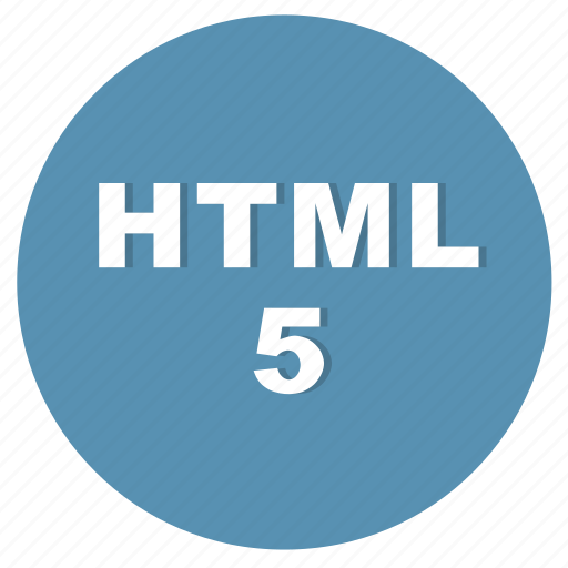 hnml, html5, language of the layout, network, programming, web icon