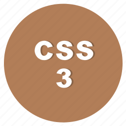 css, css3, language of the layout, network, programming, web icon
