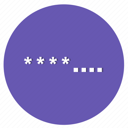 code, network, parole, password, programming icon