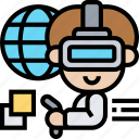 simulation, virtual, reality, online, technology