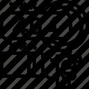 error, code, failure, report, trouble icon