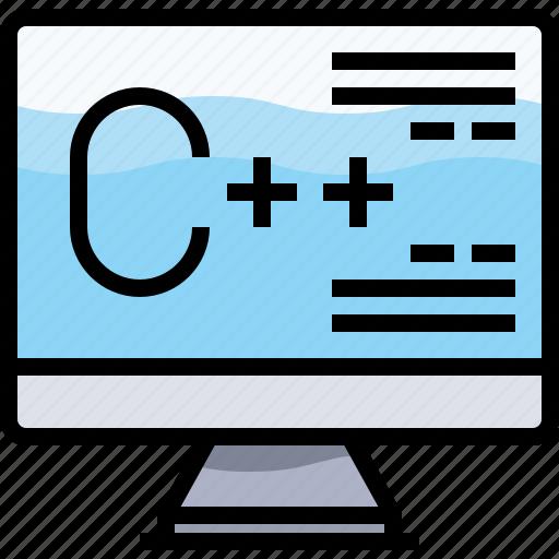 coding, computer, develop, development, programming icon