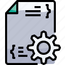 develop, development, file, management icon