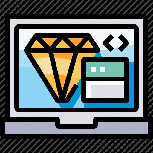 app, browser, code, coding, develop, development, programming icon