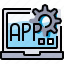 app, coding, develop, development, programming icon