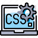 code, coding, css, develop, development, programming icon