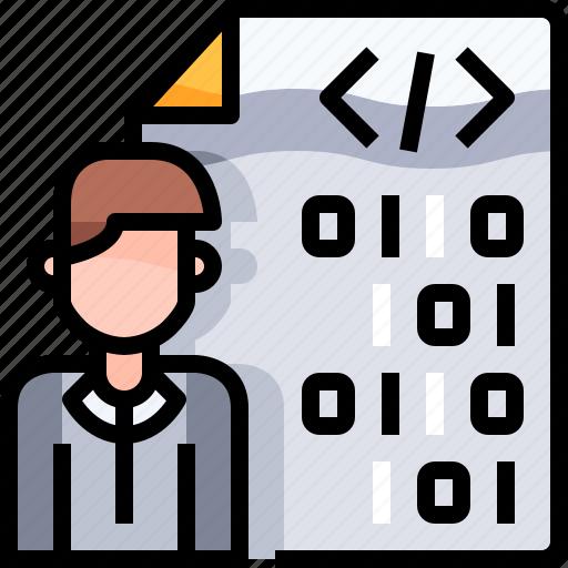 coding, develop, development, programmer, programming icon