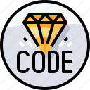 code, coding, develop, development, programming icon
